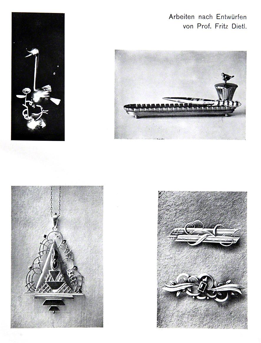 Neuwirth monatsobjekt dezember 2014 fritz dietl for Innendekoration 1915